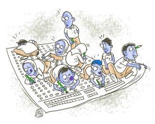 ujian nasional 240408 5.770 Siswa SMP Calon Peserta UN di Tapanuli Selatan